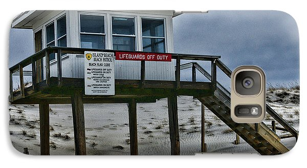 Galaxy Case featuring the photograph Lifeguard Station 1 by Paul Ward