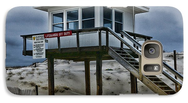 Galaxy Case featuring the photograph Lifeguard Station 2  by Paul Ward