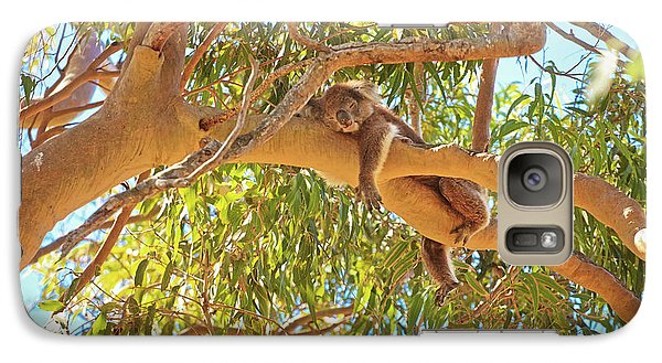 Galaxy Case featuring the photograph Life's Hard, Yanchep National Park by Dave Catley