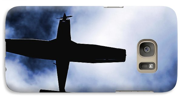 Galaxy Case featuring the photograph Light Aircraft by Craig B