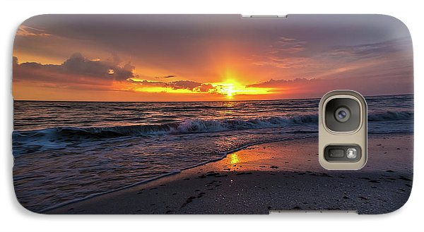Galaxy Case featuring the photograph Light Along The Shore by Everett Houser