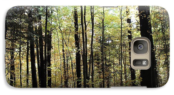 Galaxy Case featuring the photograph Light Among The Trees by Felipe Adan Lerma