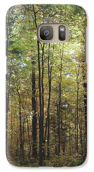 Galaxy Case featuring the photograph Light Among The Trees Vertical by Felipe Adan Lerma