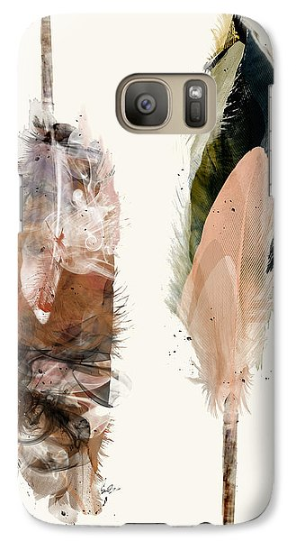 Galaxy Case featuring the painting Light And Love by Bri B