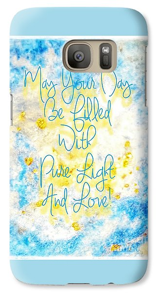 Light And Love Galaxy S7 Case