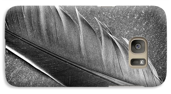 Galaxy Case featuring the photograph Light As A Feather by Karen Stahlros