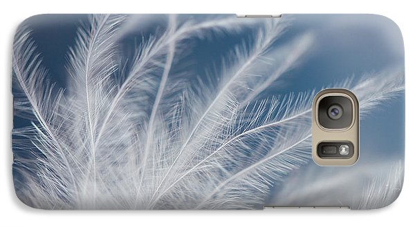 Galaxy Case featuring the photograph Light As A Feather by Yvette Van Teeffelen