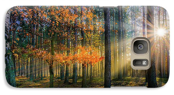 Galaxy Case featuring the photograph Light Catcher by Dmytro Korol