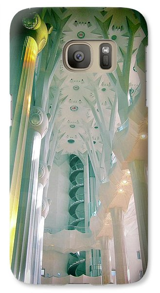 Galaxy Case featuring the photograph Light Dancing On The Ceiling by Christin Brodie