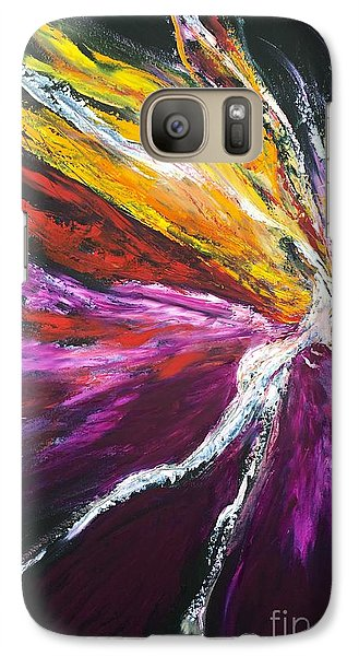 Galaxy Case featuring the painting Light Fairy by Marat Essex