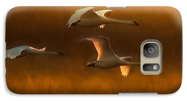 Galaxy Case featuring the painting Light by Kelly Marquardt