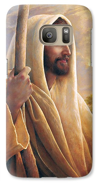 Religion Galaxy S7 Case - Light Of The World by Greg Olsen