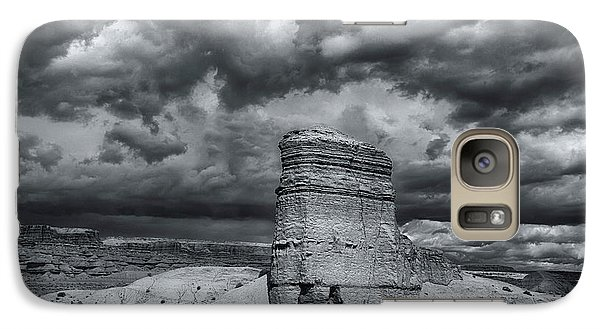 Galaxy Case featuring the photograph Light On The Rock by John A Rodriguez