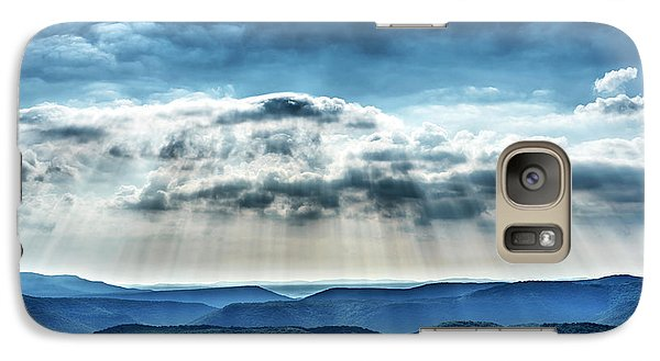 Galaxy Case featuring the photograph Light Rains Down by Thomas R Fletcher