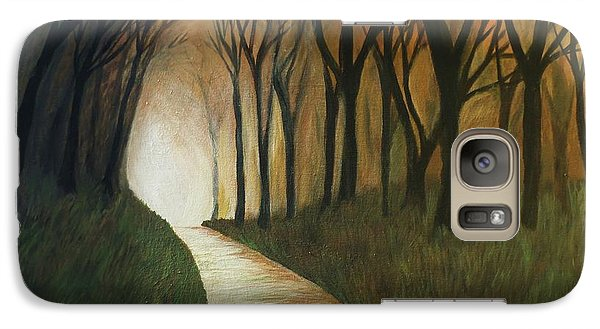 Galaxy Case featuring the painting Light The Path by Christy Saunders Church