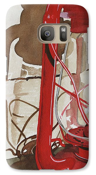 Galaxy Case featuring the painting Light The Way by Cynthia Powell