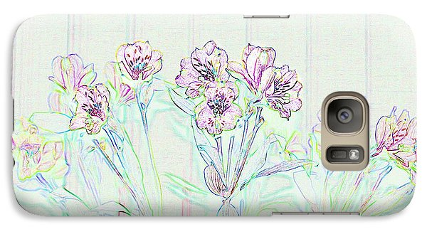 Galaxy Case featuring the photograph Lighter Side Azaleas by Ellen O'Reilly