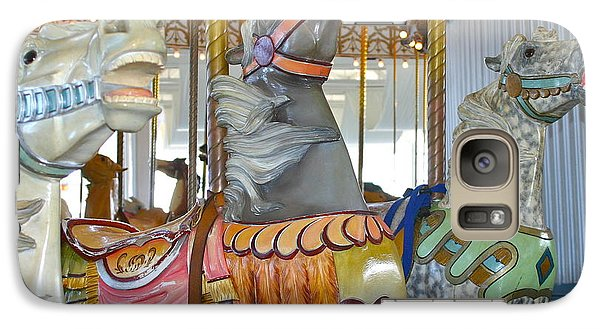 Galaxy Case featuring the photograph Lighthouse Park Carousel by Cindy Lee Longhini