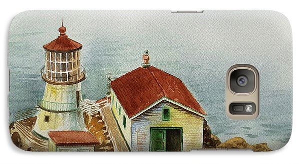 Lighthouse Point Reyes California Galaxy S7 Case