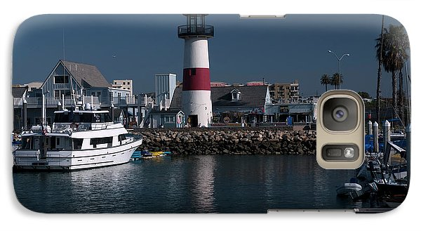 Galaxy Case featuring the photograph Lighthouse by Rod Wiens
