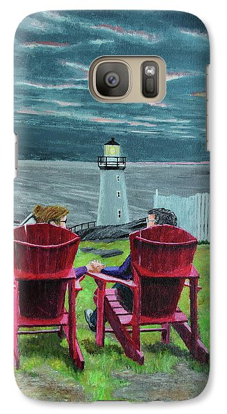 Lighthouse Lovers Galaxy S7 Case
