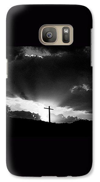 Galaxy Case featuring the photograph Lighting Faith by Karen Musick