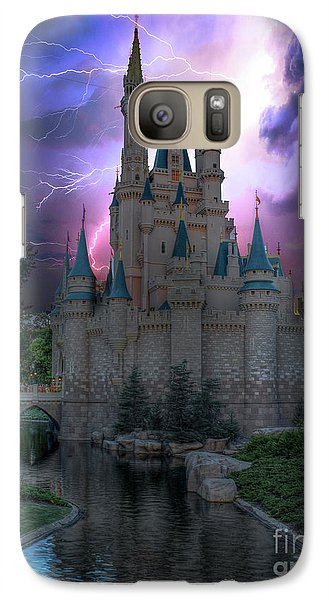 Lighting Over The Castle Galaxy S7 Case