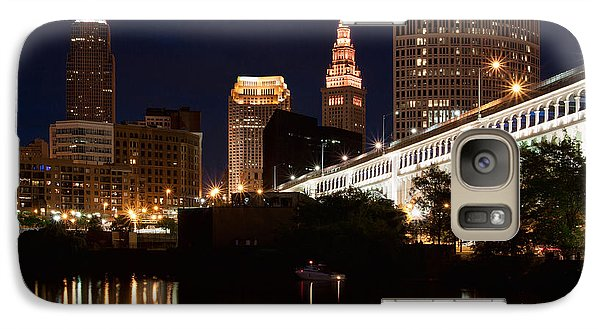 Lights In Cleveland Ohio Galaxy S7 Case