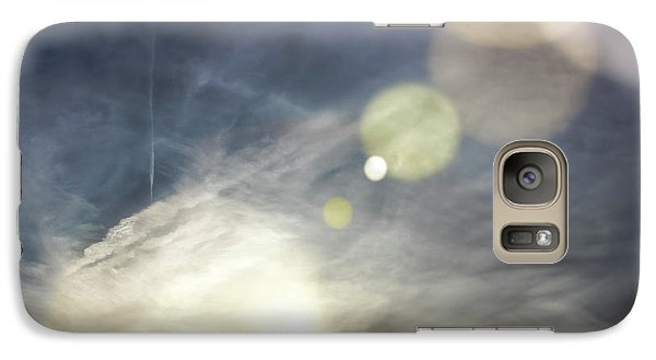 Galaxy Case featuring the photograph Lightshow by Colleen Kammerer