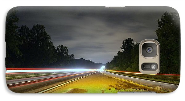Galaxy Case featuring the photograph Lightworks by Alex Grichenko