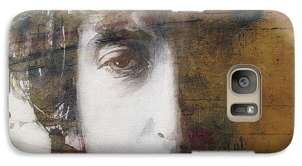 Bob Dylan Galaxy S7 Case - Like A Rolling Stone  by Paul Lovering