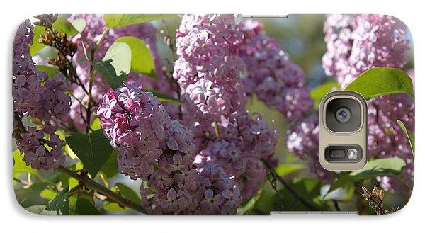 Galaxy Case featuring the photograph Lilacs 5548 by Antonio Romero