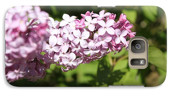 Galaxy Case featuring the photograph Lilacs 5550 by Antonio Romero
