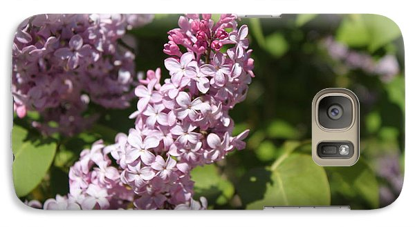 Galaxy Case featuring the photograph Lilacs 5552 by Antonio Romero