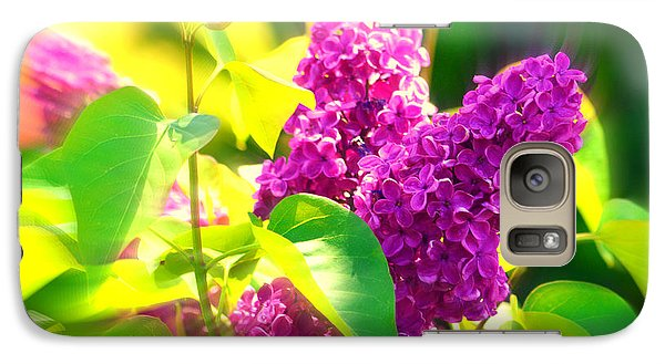 Galaxy Case featuring the photograph Lilacs by Susanne Van Hulst