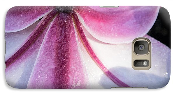 Galaxy Case featuring the photograph Lilies Backside by Jean Noren