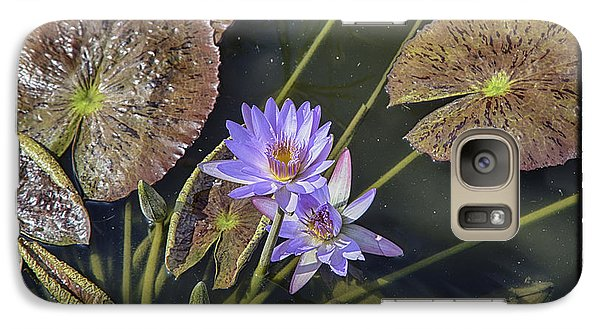 Galaxy Case featuring the photograph Lillies by R Thomas Berner