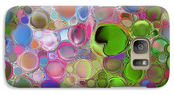 Galaxy Case featuring the digital art Lilly Pond by Loxi Sibley