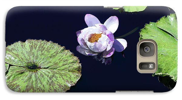 Galaxy Case featuring the photograph Lily Love II by Suzanne Gaff