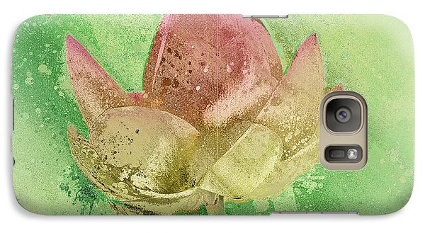 Galaxy Case featuring the mixed media Lily My Lovely - S112sqc88 by Variance Collections
