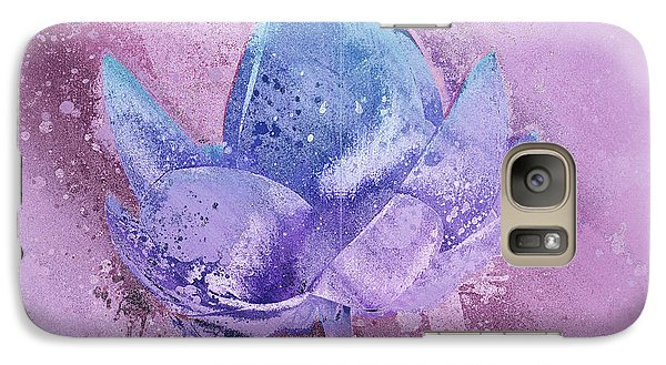 Galaxy Case featuring the digital art Lily My Lovely - S113sqc77 by Variance Collections