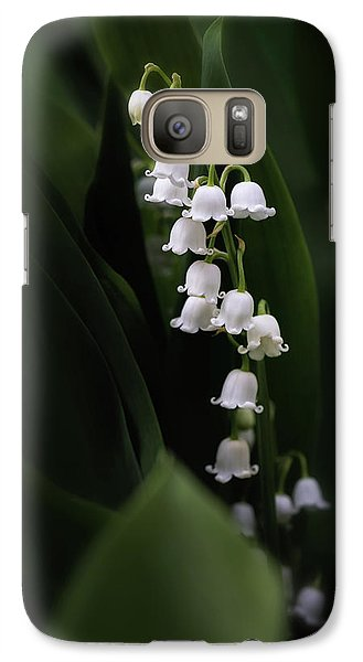 Lily Galaxy S7 Case - Lily Of The Valley by Tom Mc Nemar