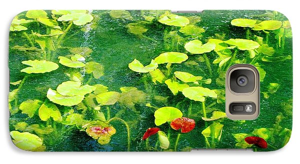 Galaxy Case featuring the photograph Lily Pads by Melissa Stoudt