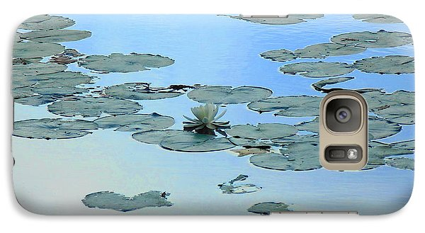 Galaxy Case featuring the photograph Lily Pond by Daun Soden-Greene