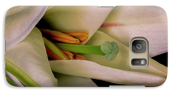 Galaxy Case featuring the photograph Lily White by Roy McPeak