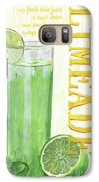 Galaxy Case featuring the painting Limeade by Debbie DeWitt