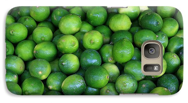 Galaxy Case featuring the photograph Limes by David Dunham