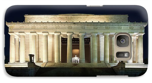Lincoln Memorial At Twilight Galaxy S7 Case