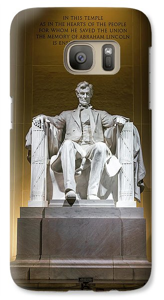 Lincoln Memorial Galaxy S7 Case - Lincoln Memorial by Larry Marshall