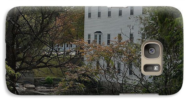 Galaxy Case featuring the photograph Linden Mill Pond by Tara Lynn